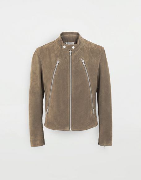 MAISON MARGIELA Leather jacket Leather Jacket Man f