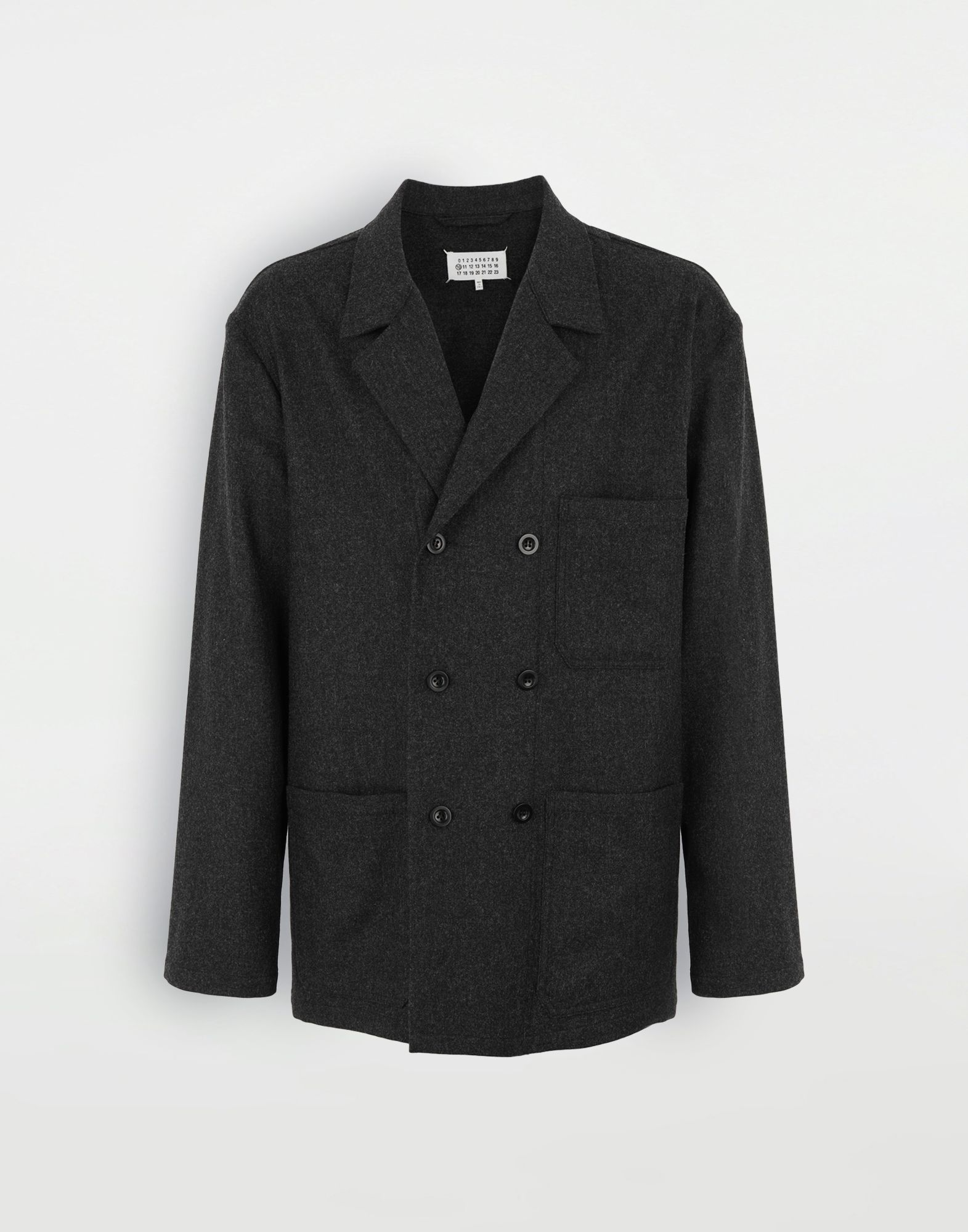 MAISON MARGIELA Double-breasted blazer Jacket Man f
