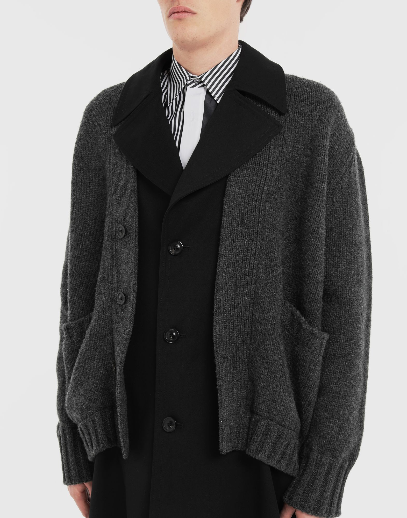MAISON MARGIELA Double layer coat Coat Man a