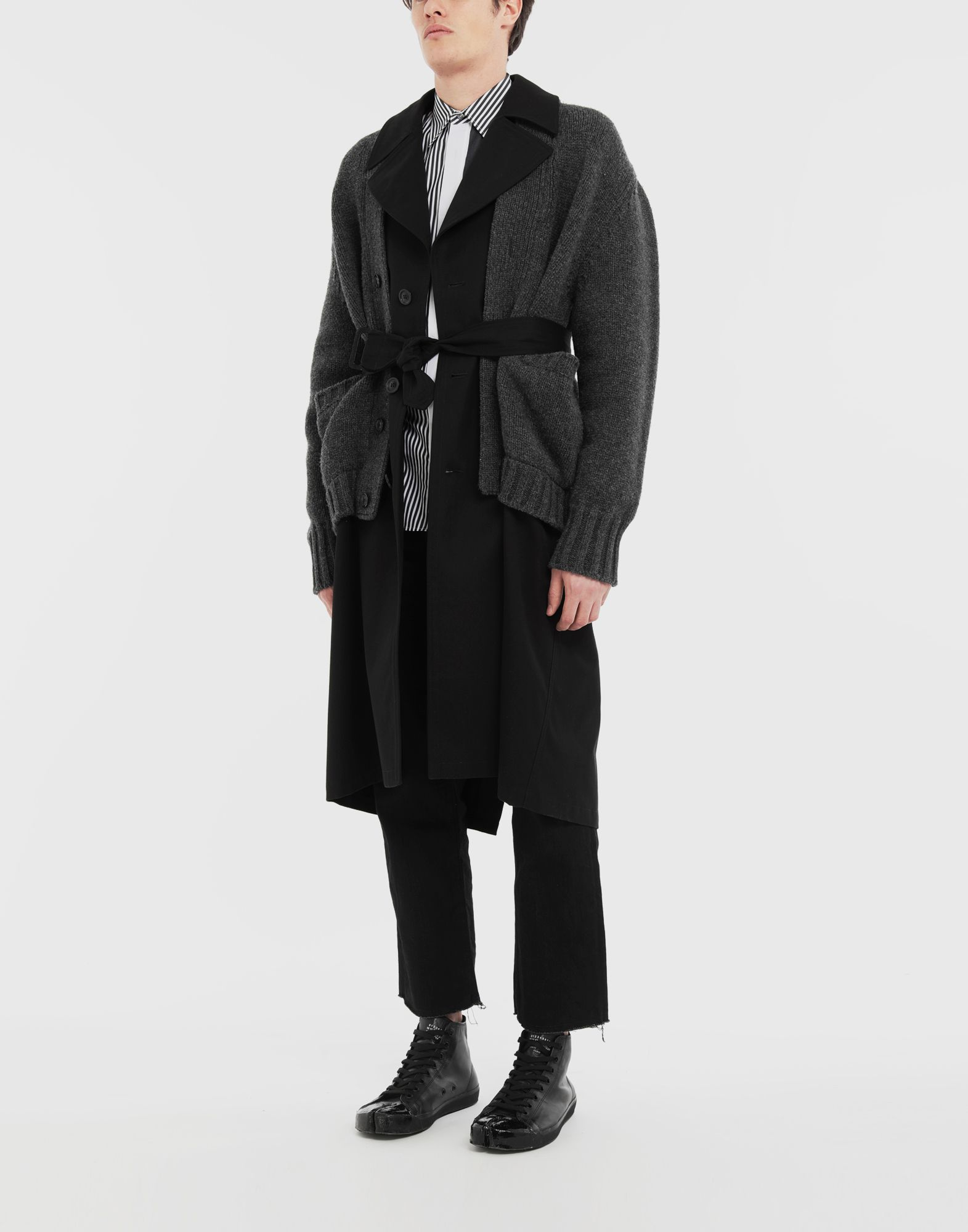 MAISON MARGIELA Double layer coat Coat Man d