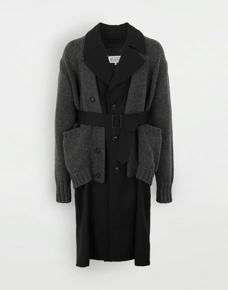 MAISON MARGIELA Double layer coat Coat Man f