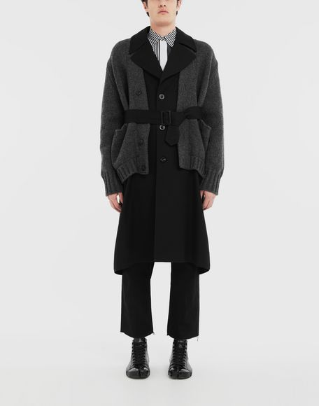 MAISON MARGIELA Double layer coat Coat Man r