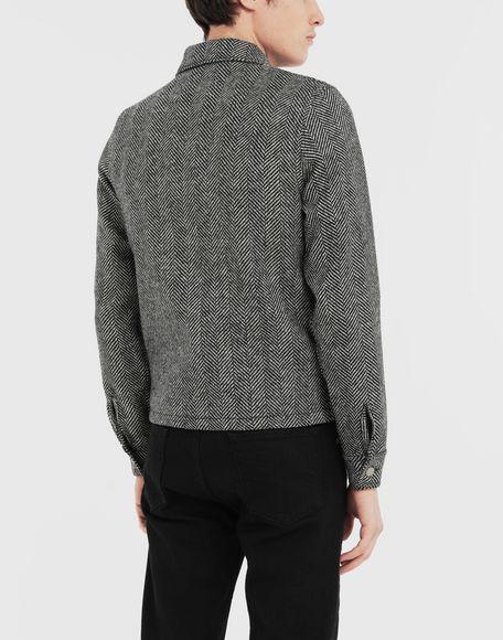 MAISON MARGIELA Пиджак в ёлочку в технике Décortiqué Куртка Для Мужчин e