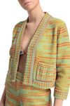 M MISSONI Jacket Woman, Rear view