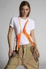 DSQUARED2 Techno Fluo Gilet Waistcoat Woman