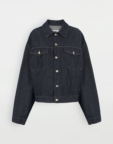 MM6 MAISON MARGIELA Oversized denim jacket Jacket Woman f