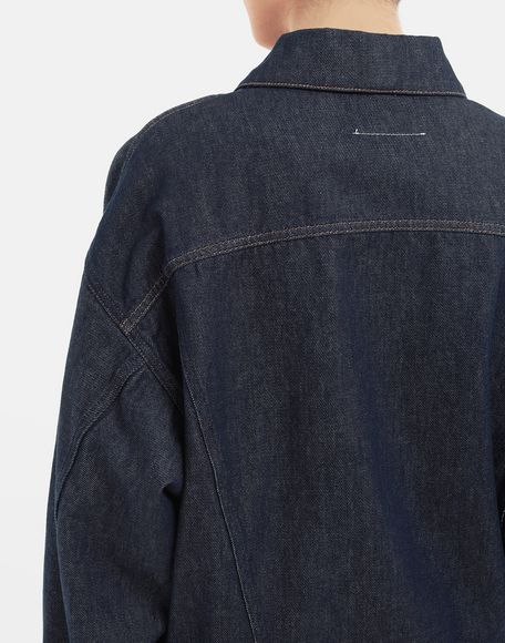 MM6 MAISON MARGIELA Oversized denim jacket Light jacket Woman b