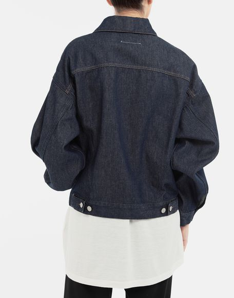 MM6 MAISON MARGIELA Oversized denim jacket Light jacket Woman e