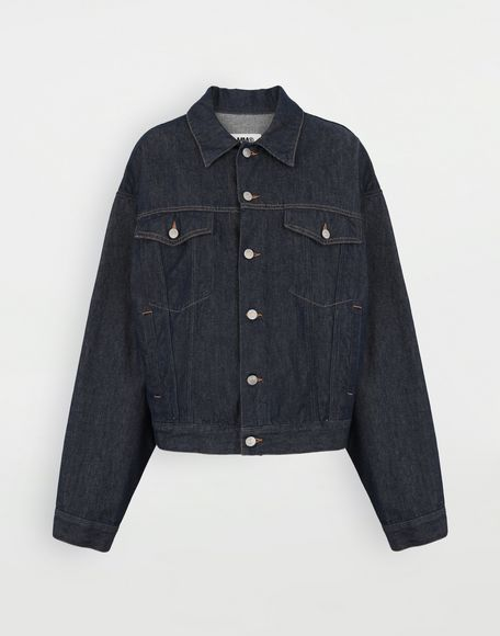 MM6 MAISON MARGIELA Oversized denim jacket Light jacket Woman f