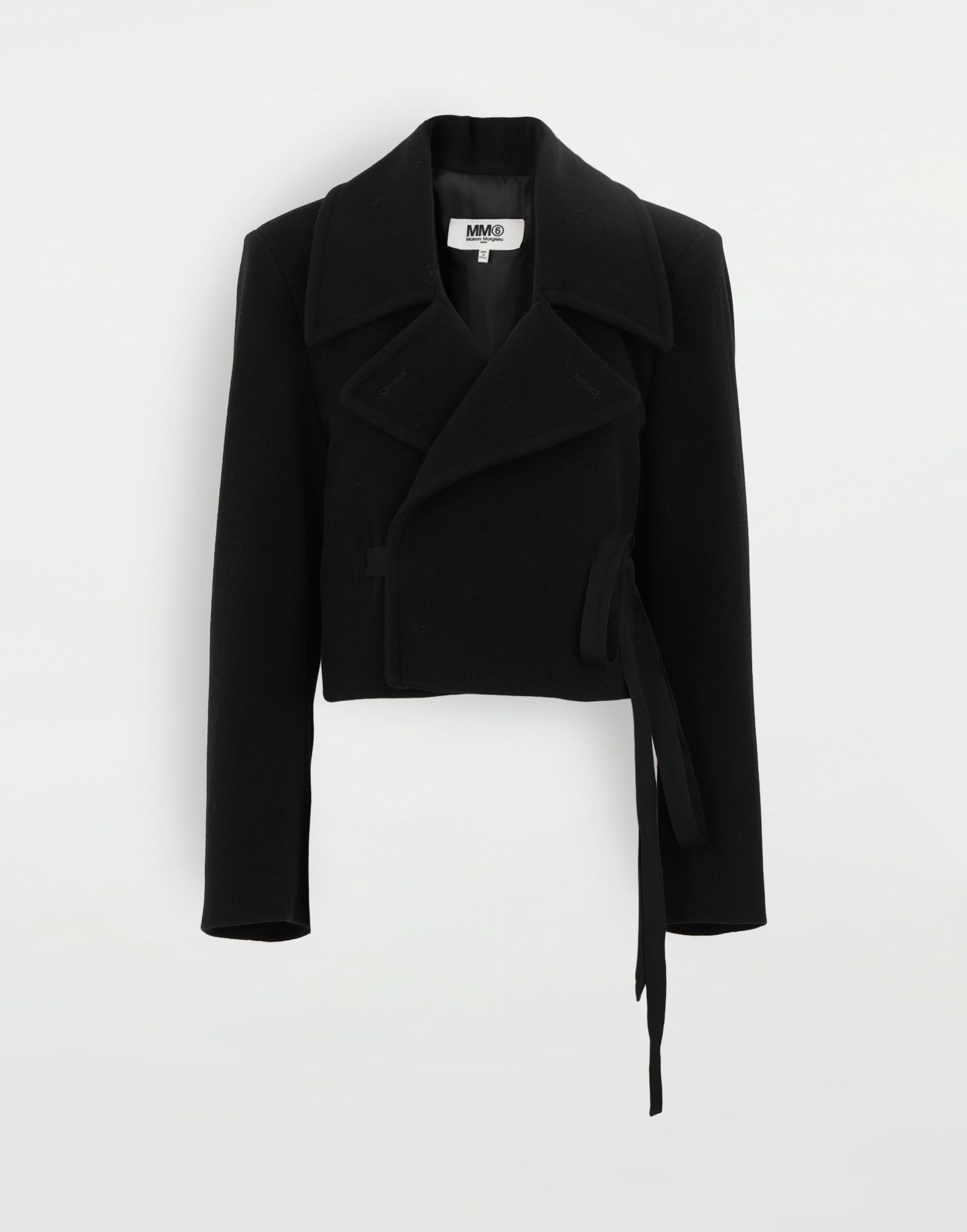 MM6 MAISON MARGIELA Jacket with strings Jacket Woman f