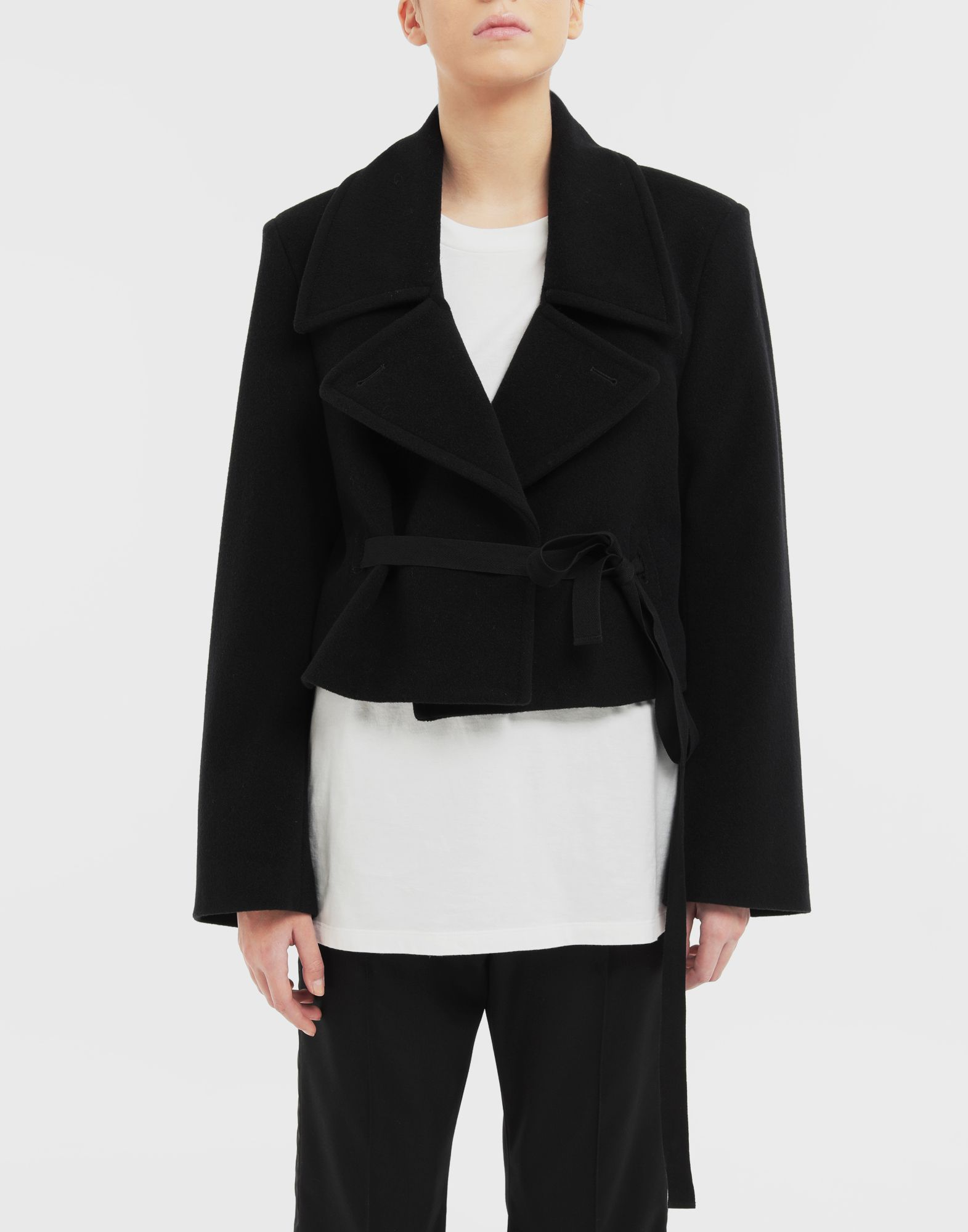 MM6 MAISON MARGIELA Jacket with strings Light jacket Woman r