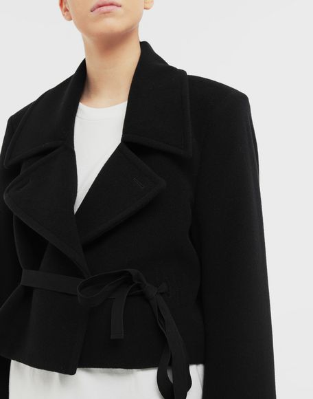 MM6 MAISON MARGIELA Jacket with strings Light jacket Woman a