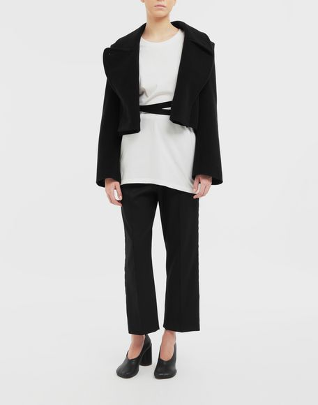 MM6 MAISON MARGIELA Jacket with strings Light jacket Woman d
