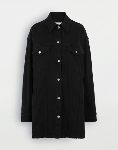 MM6 MAISON MARGIELA Oversized shirt Light jacket Woman f