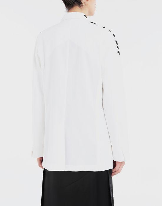 MM6 MAISON MARGIELA Charity AIDS-print cape jacket Blazer [*** pickupInStoreShipping_info ***] e