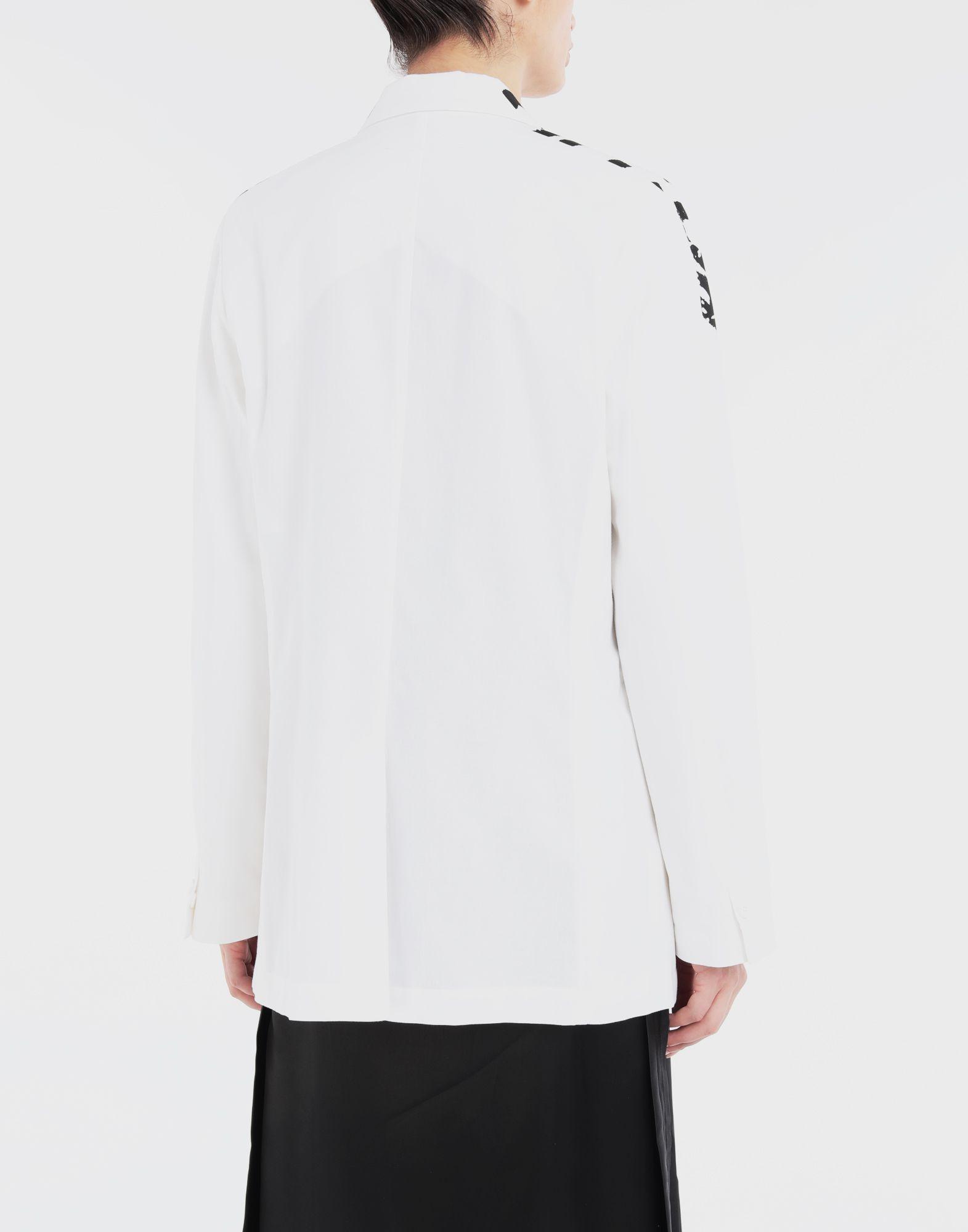 MM6 MAISON MARGIELA Charity AIDS-print cape jacket Jacket Woman e