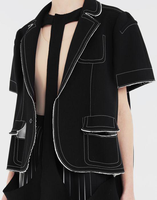 MAISON MARGIELA Décortiqué cape jacket Jacket [*** pickupInStoreShipping_info ***] a