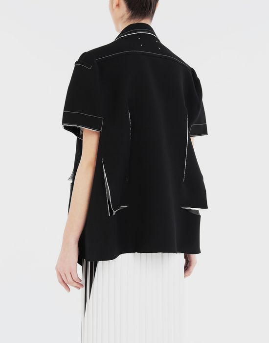 MAISON MARGIELA Décortiqué cape jacket Jacket [*** pickupInStoreShipping_info ***] e
