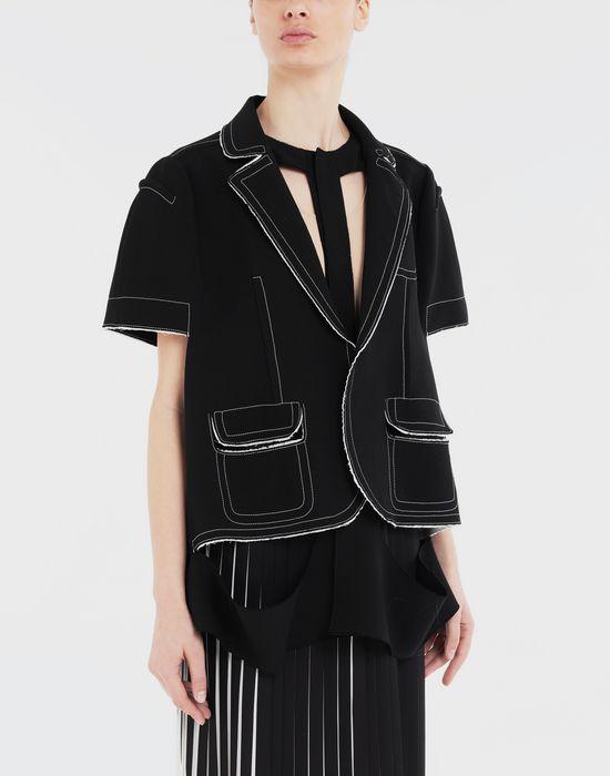 MAISON MARGIELA Décortiqué cape jacket Jacket [*** pickupInStoreShipping_info ***] r