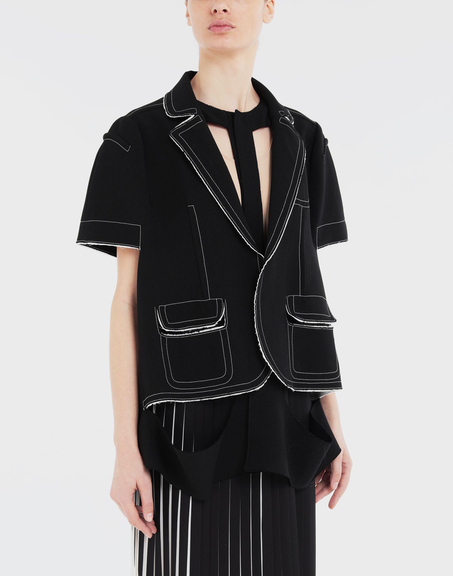 MAISON MARGIELA Décortiqué cape jacket Jacket Woman r