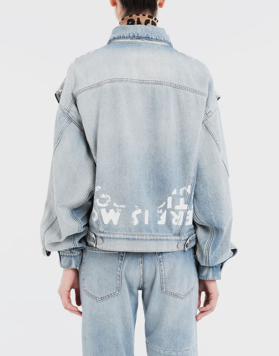 MM6 MAISON MARGIELA Charity AIDS-print jacket Jacket [*** pickupInStoreShipping_info ***] e