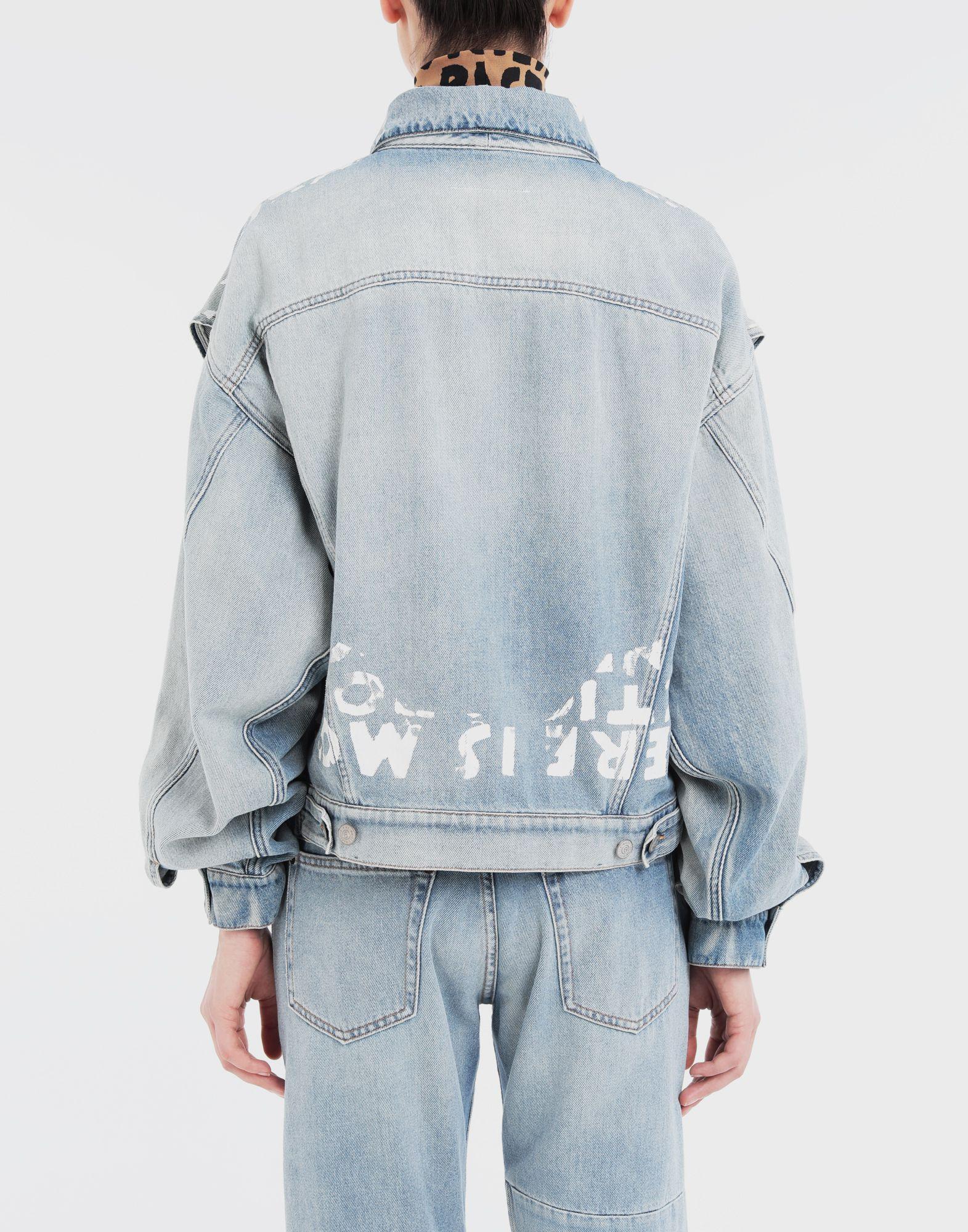 MM6 MAISON MARGIELA Charity AIDS-print jacket Light jacket Woman e