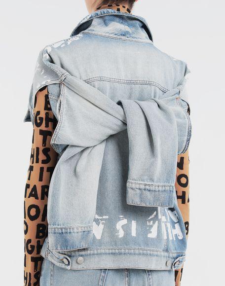 MM6 MAISON MARGIELA Charity AIDS-print jacket Light jacket Woman b