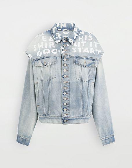 MM6 MAISON MARGIELA Charity AIDS-print jacket Light jacket Woman f