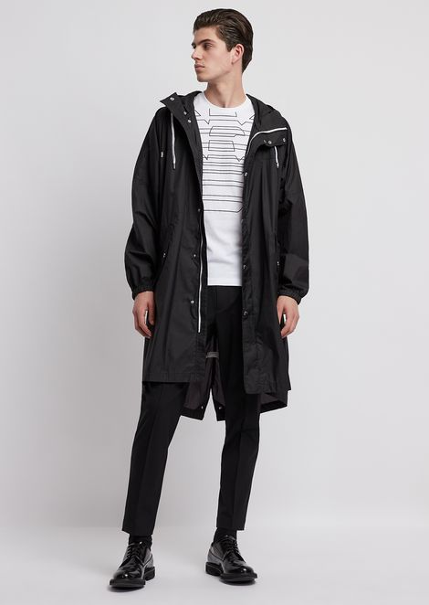 EMPORIO ARMANI Trench Coat Man d