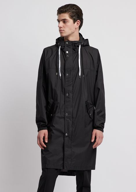 EMPORIO ARMANI Trench Coat Man f