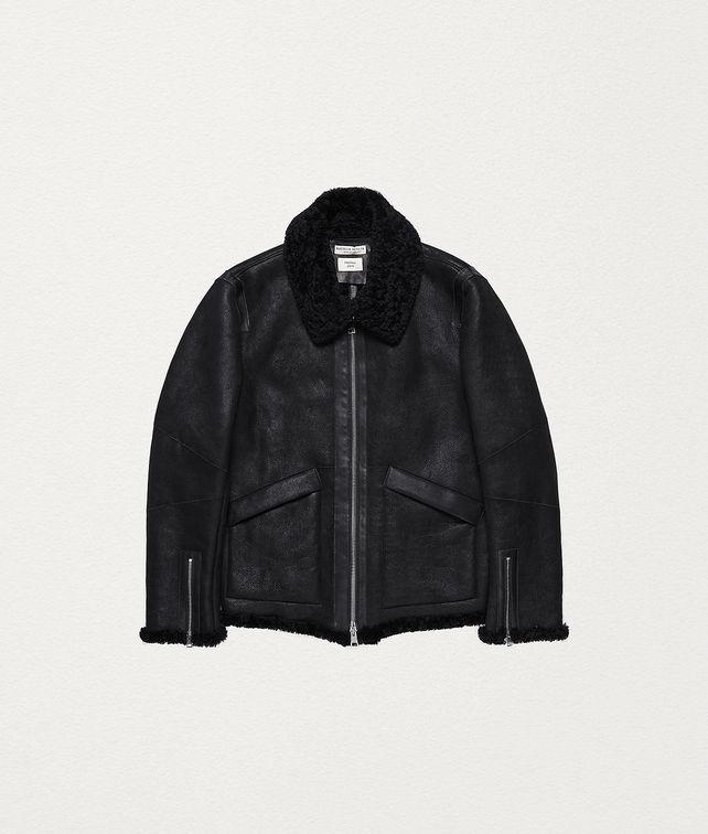 BOTTEGA VENETA AVIATOR JACKET IN SHEARLING Outerwear and Jacket Man fp