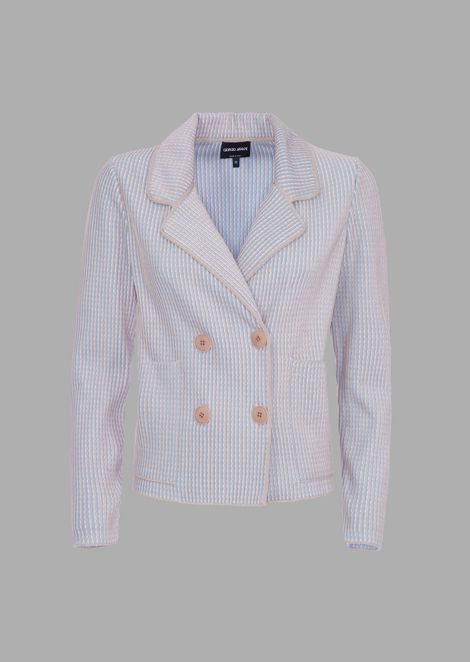 GIORGIO ARMANI Double breasted jackets Woman r