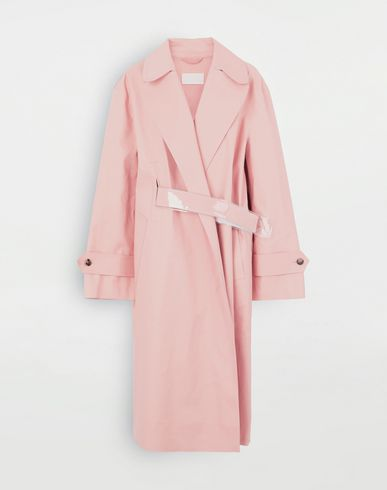 MAISON MARGIELA Trench coat crafted by Mackintosh  Coat Woman f