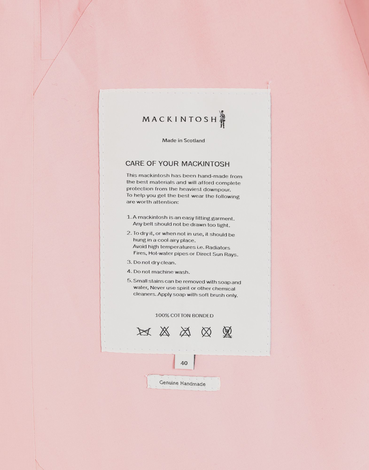 MAISON MARGIELA Trenchcoat von Mackintosh  Mantel Damen b