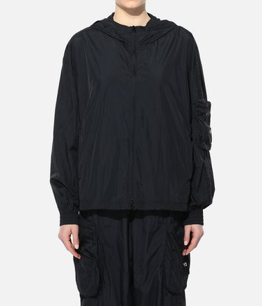 Y-3 Hooded Track Top Woman Y-3 Shell Track Jacket r