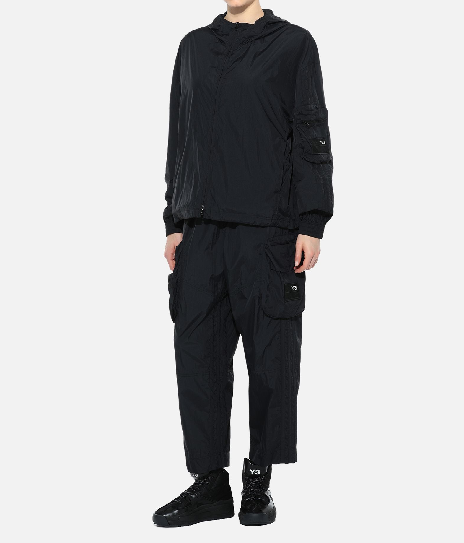 Y-3 Y-3 Shell Track Jacket Hooded Track Top Woman a