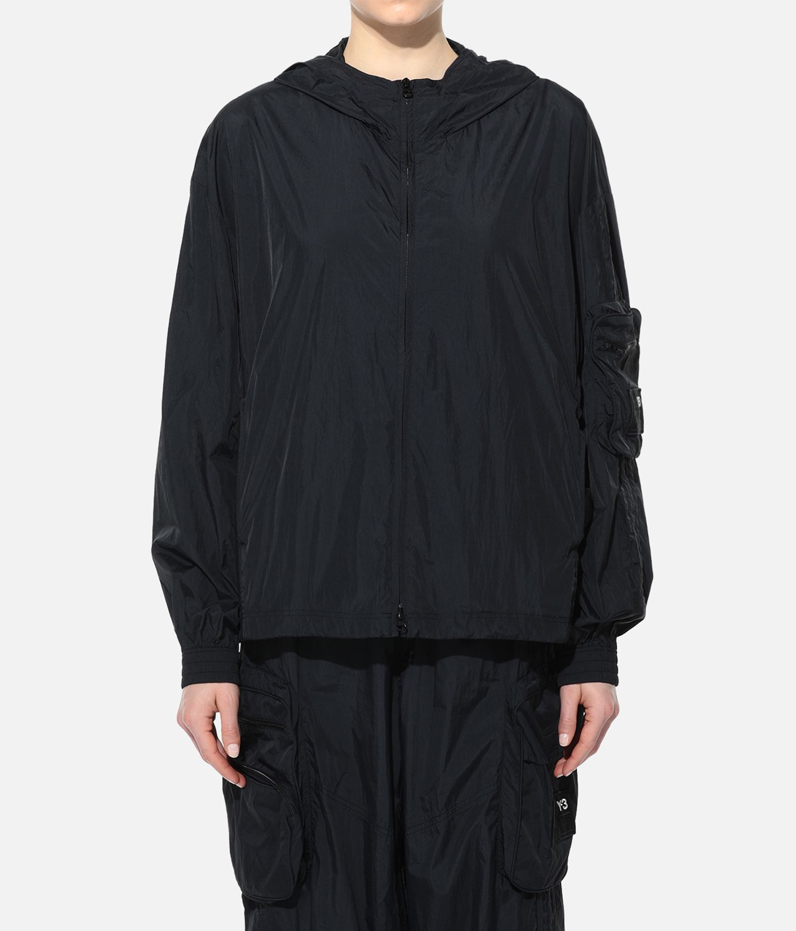 Y-3 Y-3 Shell Track Jacket Hooded Track Top Woman r