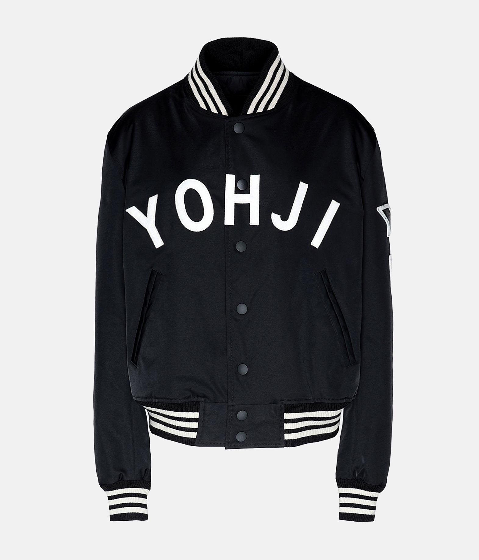 Y-3 Y-3 Yohji Letters Bomber Jacket Jacket Woman f