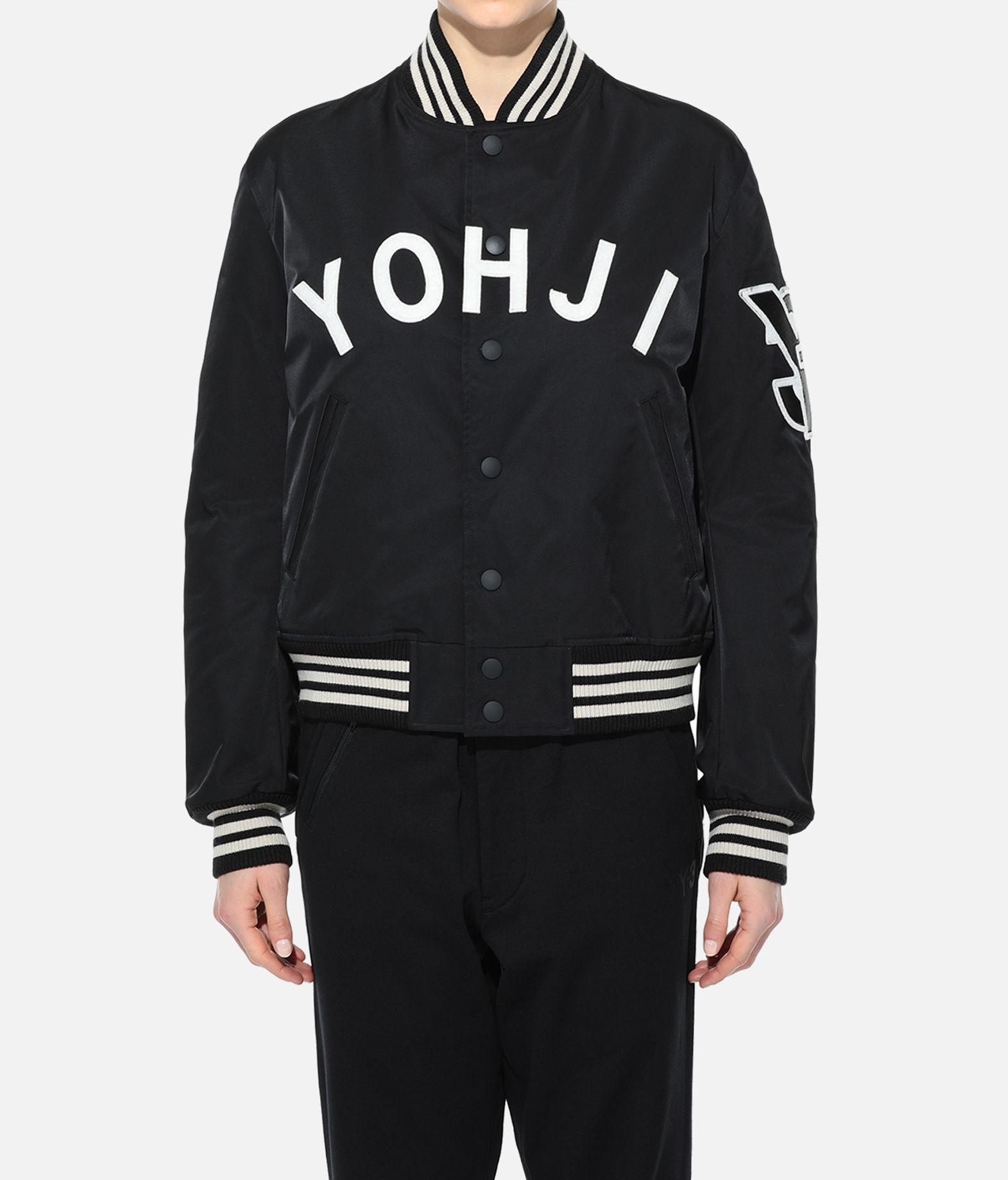 wholesale dealer 3c2da b3143 Y-3 Yohji Letters Bomber Jacket