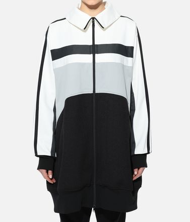 Y-3 Track top Woman Y-3 OVERSIZED GRAPHIC TRACK TOP r