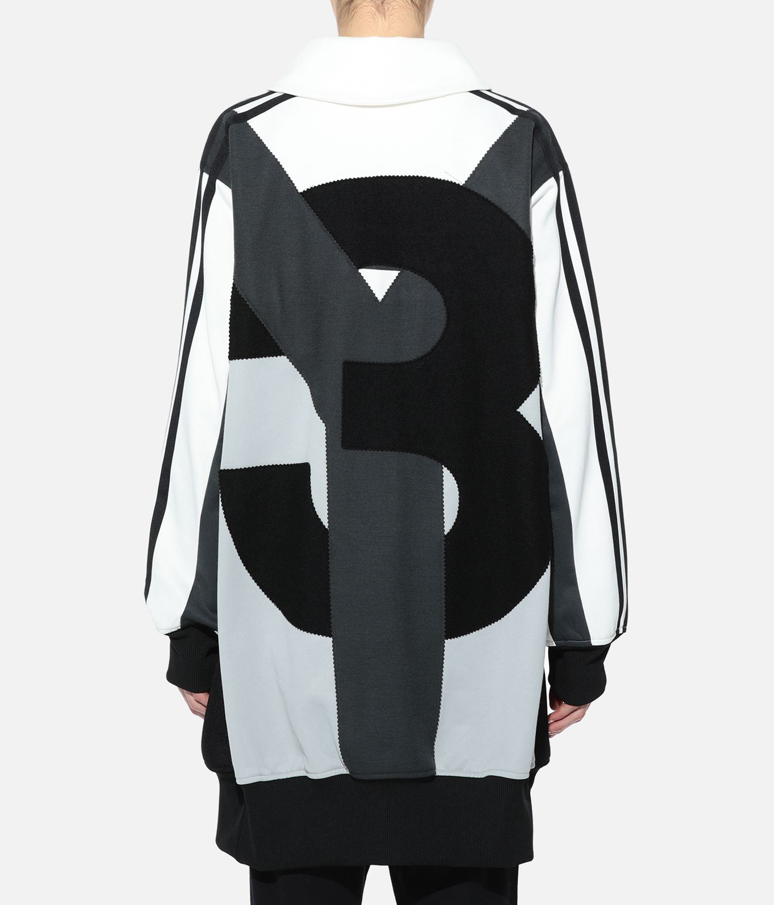 Y-3 Y-3 OVERSIZED GRAPHIC TRACK TOP Track top Woman d