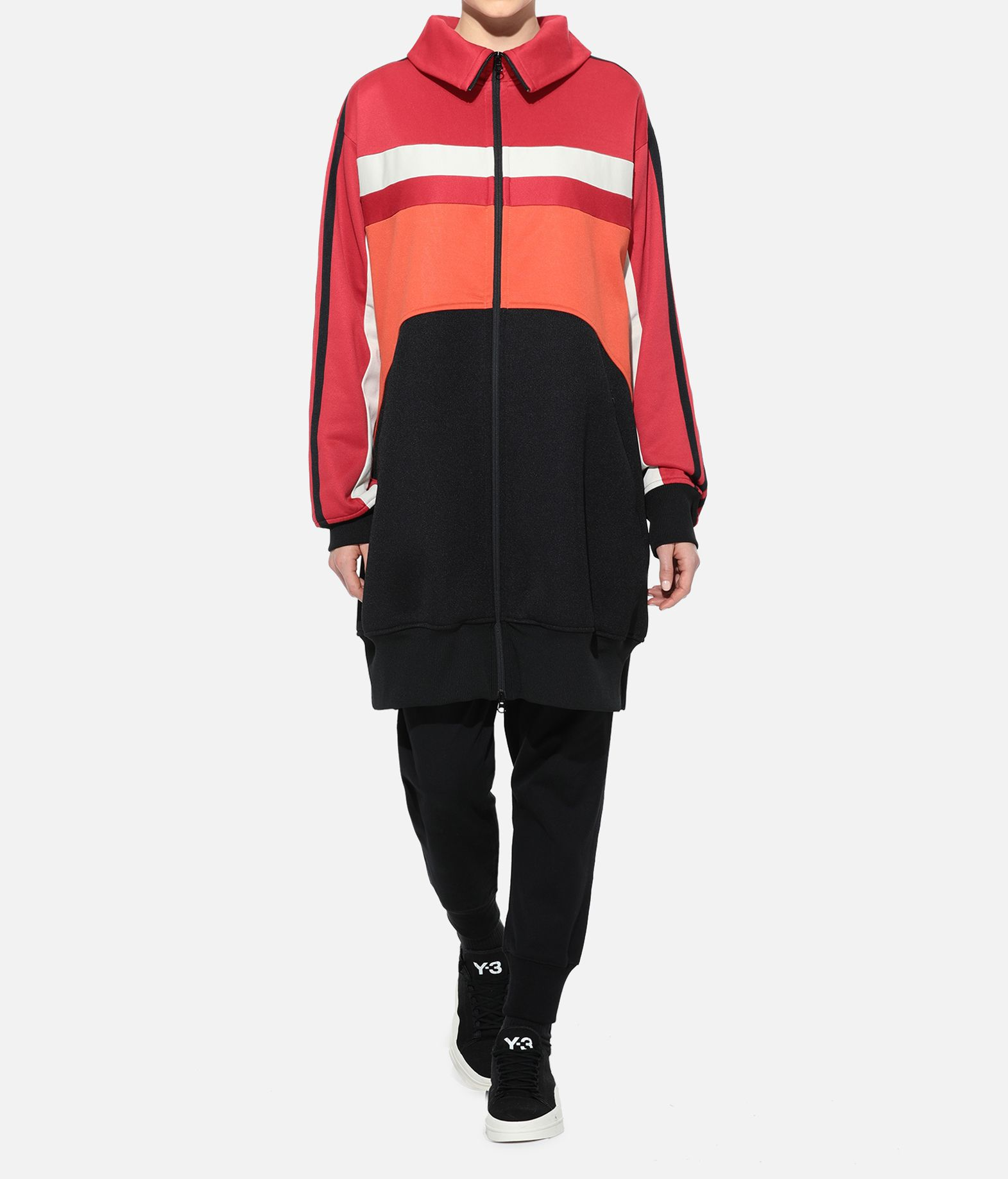 Y-3 Y-3 OVERSIZED GRAPHIC TRACK TOP Track top Woman a