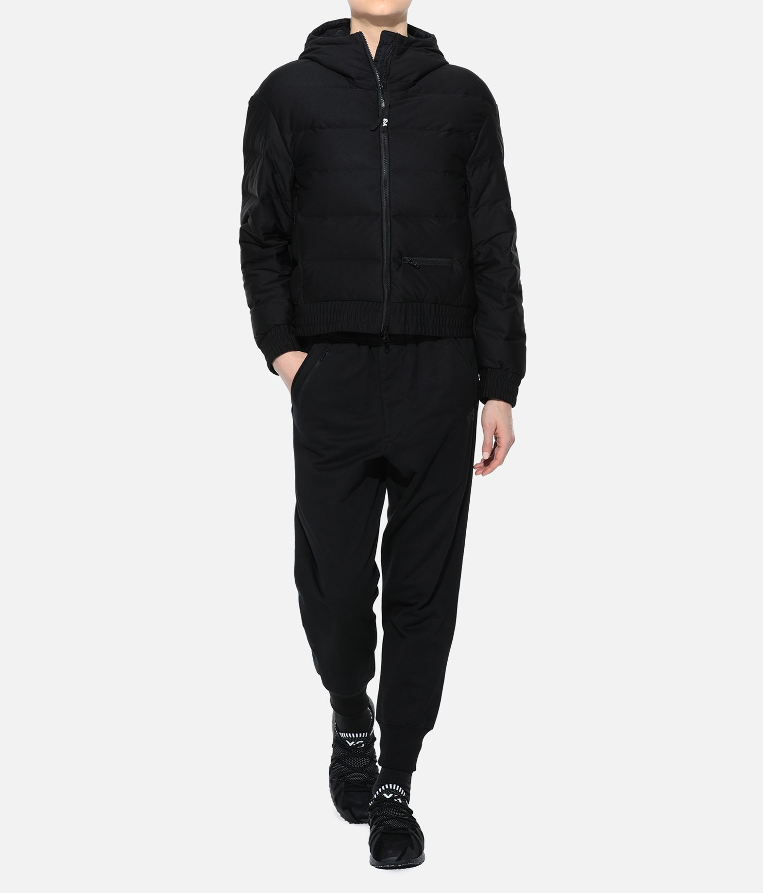 Y-3 Y-3 Seamless Down Hooded Jacket Jacket Woman a