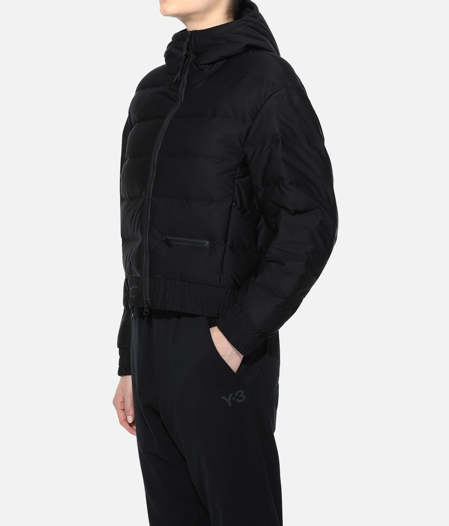 Y-3 Y-3 Seamless Down Hooded Jacket Jacket Woman e