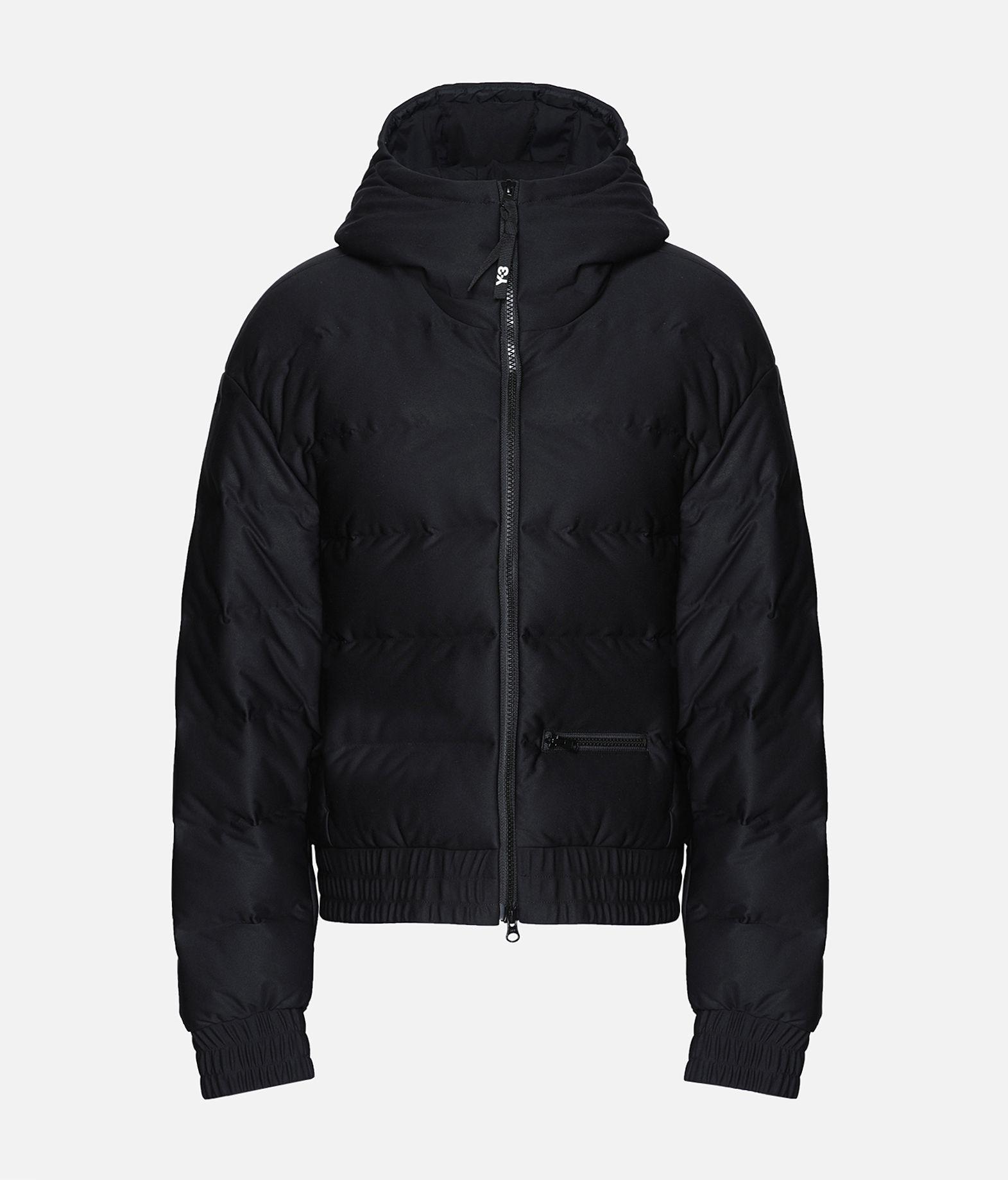 Y-3 Y-3 Seamless Down Hooded Jacket Jacket Woman f