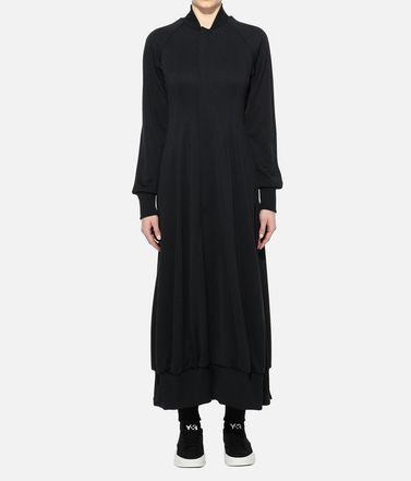 Y-3 Track top Damen Y-3 Yohji Letters Track Jacket Dress r