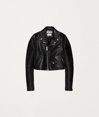 BIKER JACKET IN ROUGH CALF