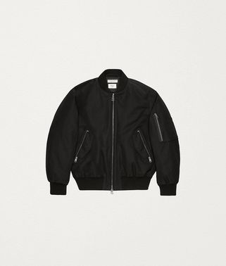 JACKET IN TECHNO TWILL