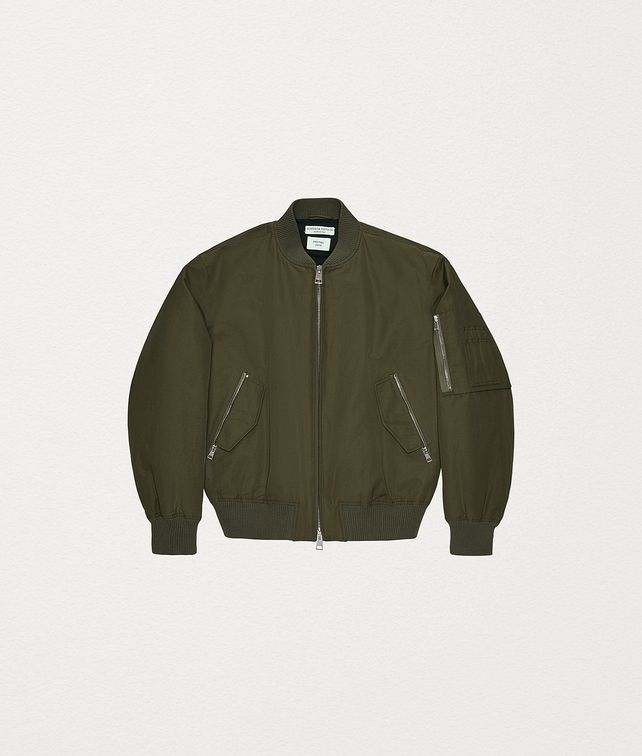 BOTTEGA VENETA JACKET IN TECHNO TWILL Outerwear and Jacket Man fp