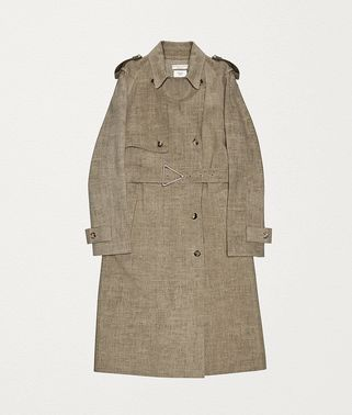 TRENCH COAT IN LINEN
